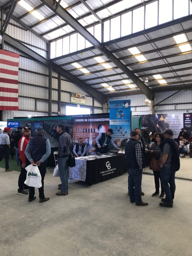 ProCROSS & Creative Genetics booth at World AG Expo 2020